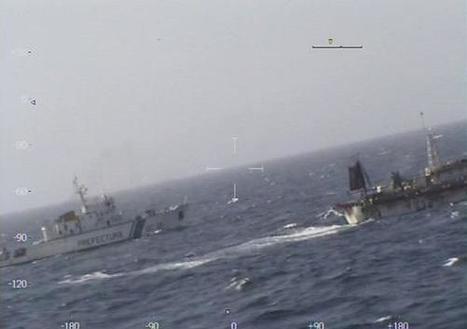 Un chalutier chinois coulé par les garde-côtes argentins | Géopoli | Scoop.it