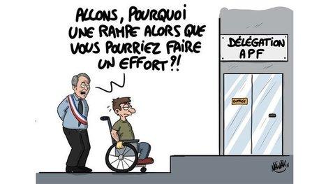 Pierre-André Périssol : A Moulins, les personnes en situation de handicap moins bien considérées que des pots de fleurs !   16s3d: Bestioles, opinions & pétitions   Scoop.it