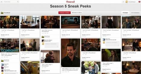 Comment les programmes TV américains utilisent Pinterest | Entrepreneurs du Web | Scoop.it