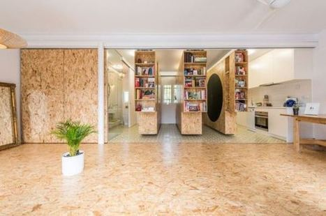 PHOTOS. Une maison insolite dont les murs coulissent pour ... - Le Huffington Post | mobilier salle de bain | Scoop.it