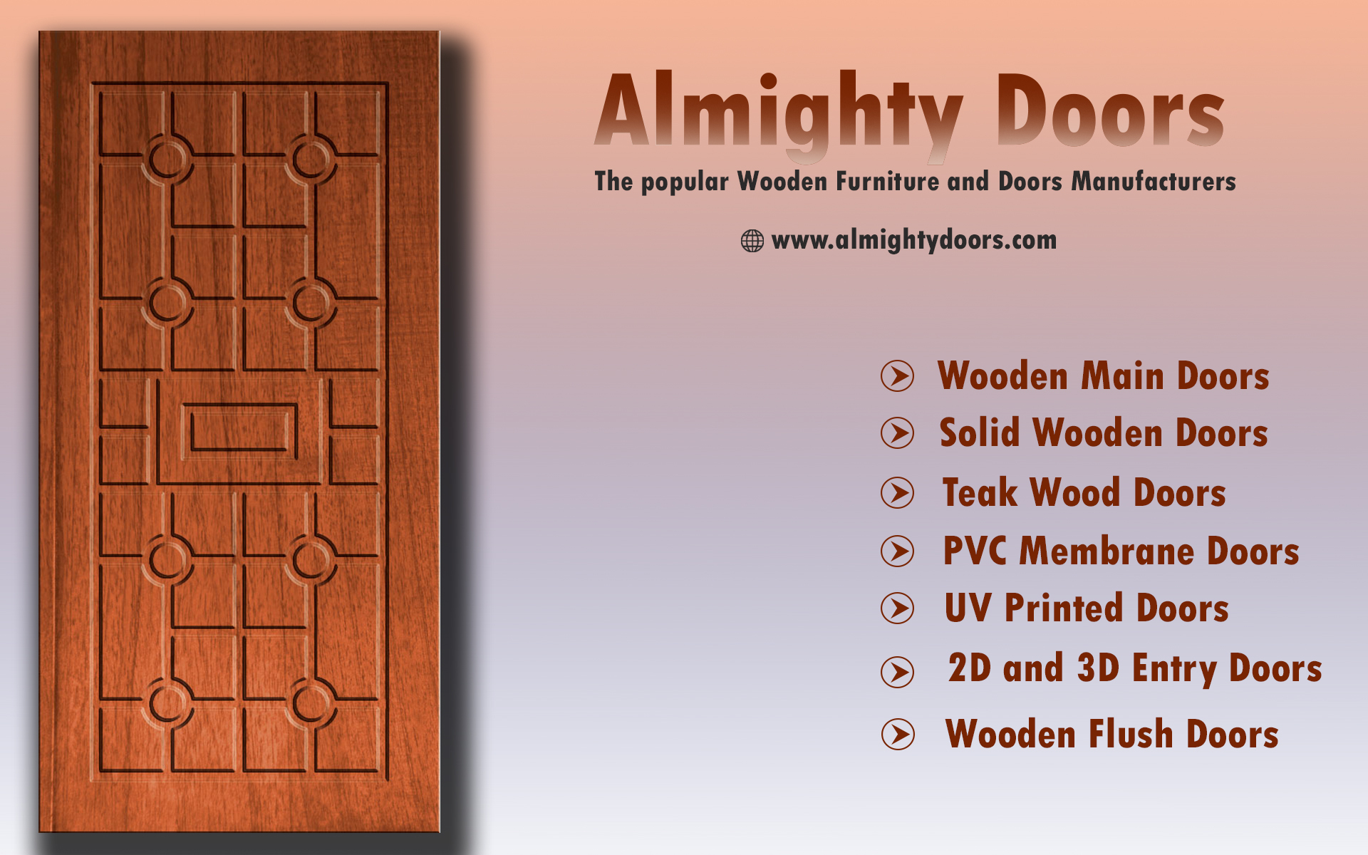 Wooden Flush Doors Manufacturers In Tamilnadu