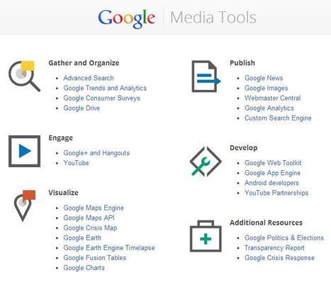 Media Tools - Google | 25 Herramientas para la investigación y el análisis | Noticias, Recursos y Contenidos sobre Aprendizaje | Scoop.it