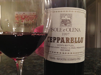 Tuscan Vines: Sublime Sangiovese: 1997 Cepparello | Wine business | Scoop.it