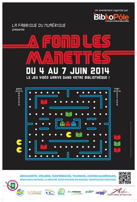 Journée d'Etude : Les jeux vidéo en bibliothèque – 5 juin 2014, Haras de l'Isle Briand du Lion d'Angers | Vanessa Lalo | Bibliothiki | Scoop.it