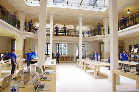 Apple Store : Un ancien iPhone échangé contre un bon d'achat de 280 dollars | Geeks | Scoop.it