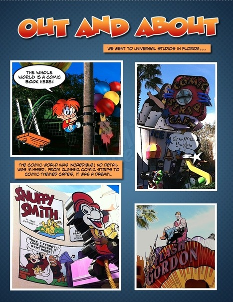 Out and About: Universal Studios | ComicLife.com | Wordpress Scoops | Scoop.it