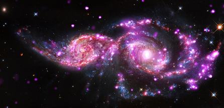 Chandra :: Photo Album :: NGC 2207 :: December 11, 2014 | Space & Time | Scoop.it