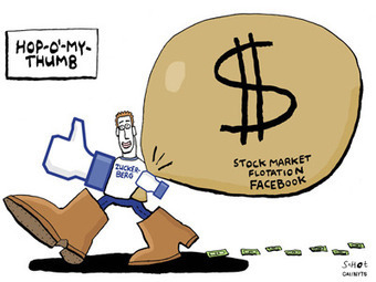 Cartoonists Go To Town On Facebook's Gazillionaires | MILE HIGH Social Media | Scoop.it