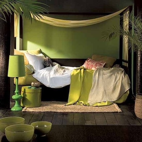 Calming Green Bedroom Designs For Every Taste | Best Home Ideas | All For The Home | Scoop.it