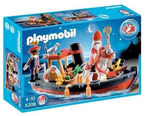 Sint Nicolaas stoomboot Playmobil | Sinterklaasfeest, feest met Sint Nicolaas, Zwarte Piet en goochelaar in voorprogramma | Scoop.it