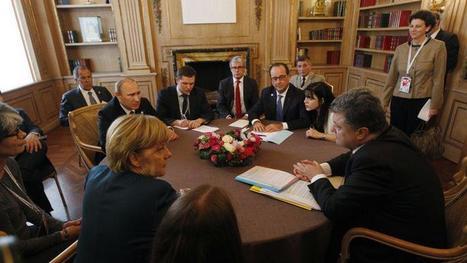 Le « format Normandie », un quatuor pour sortir de la crise ukrainienne | La revue de presse de Normandie-actu | Scoop.it