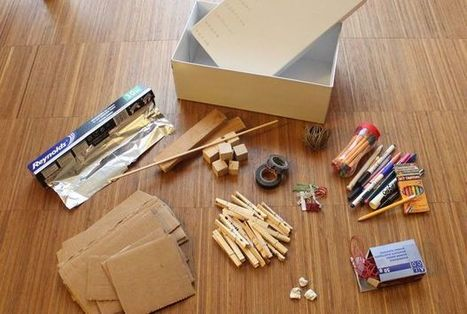 Shoebox inventor's kit lets your kids build their own iPad gadgets - Cult of Mac | Keep In The Know | Scoop.it