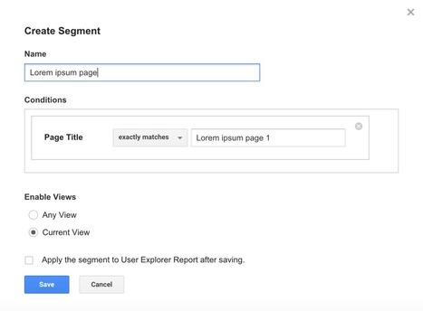 Introducing The New User Explorer Report In Google Analytics - Isaac Abramowitz | Analytics Lover | Scoop.it