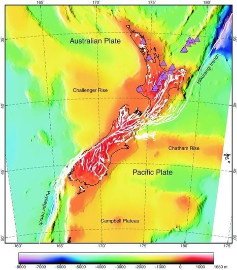 World map of fault lines deep earth lydia neotectonic deformation in new zealand map view deep earth lydia gumiabroncs Gallery