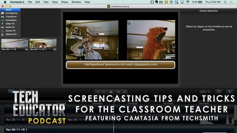 How can a Screencast be used in the classroom? · TeacherCast Educational Broadcasting NetworkbyJeffrey Bradbury | Screencasting & Flipping for Online Learning | Scoop.it