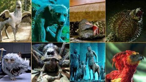 Bestiario de criaturas mágicas de «Animales fantásticos y dónde encontrarlos» | Mitología clásica | Scoop.it
