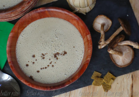 Better Raw: From Latvia with Love | Cream of Mushroom Soup Recipe | Latvian cuisine | Scoop.it