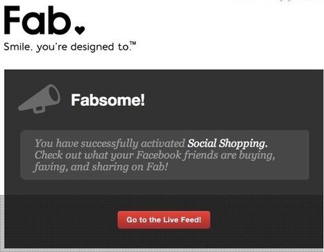 Fab, une référence pour le f-commerce ? | Facebook Pages | Scoop.it