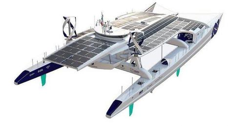 Transport maritime. Un bateau à l'éolien, au solaire et à l'hydrogène | Energies Renouvelables | Scoop.it