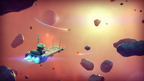 No Man's Sky And The Art Of Designing A Universe Within A Video Game | The_storyFormula: story worlds & wearables! | Scoop.it