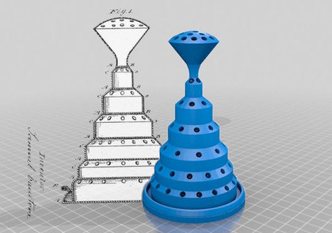 3-D Printing the 19th Century | Digital Design and Manufacturing | Scoop.it