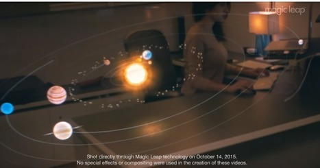 Magic Leap Releases Raw Footage Created With Its Augmented Reality Tech | Transmedia + Storytelling + Digital Marketing + Crossmedia | Scoop.it