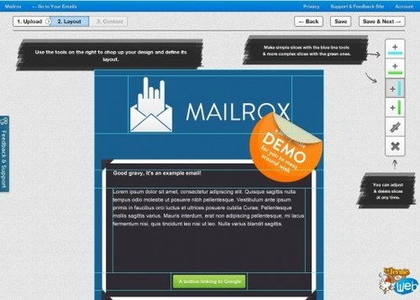 Mailrox - Intégrer ses emails HTML en quelques minutes | Time to Learn | Scoop.it