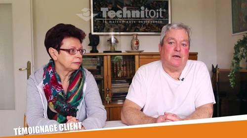 [vidéo] Témoignage clients Technitoit Saint-Lô - Toiture, gouttières, menuiseries