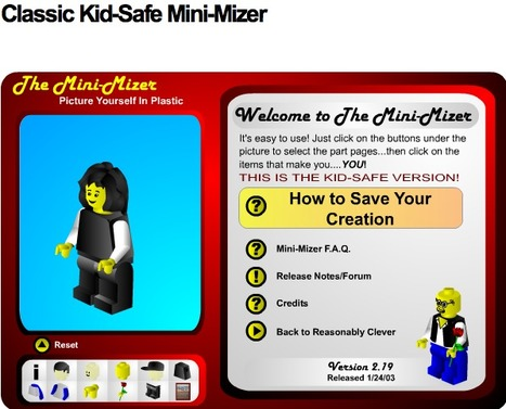 Reasonably Clever - Classic Kid-Safe Mini-Mizer | Digital Delights - Avatars, Virtual Worlds, Gamification | Scoop.it