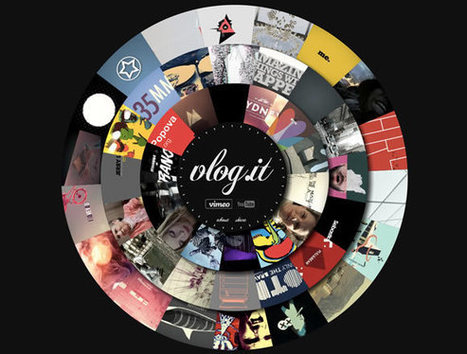 21 Examples of Circular Elements in Web Design | @webdesignledger | Digital-By-Design | Scoop.it