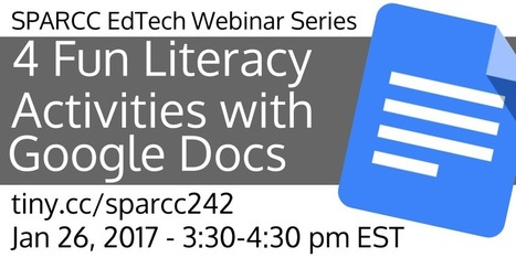 2017-01-26 - 4 Fun Literacy Activities with Google Docs - Technology Integration | Using Google Drive in the classroom | Scoop.it