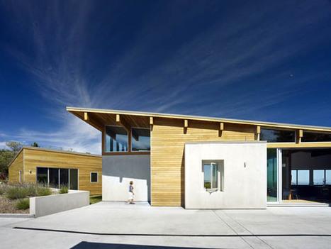 A Smart Hillside Home Incorporates Solar Orientation & Passive Ventilation | sustainable architecture | Scoop.it
