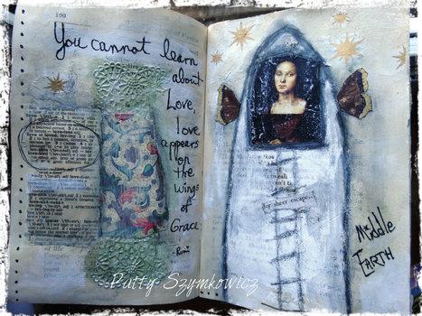 Beautiful Art Journal | Journaling Helps! | Scoop.it