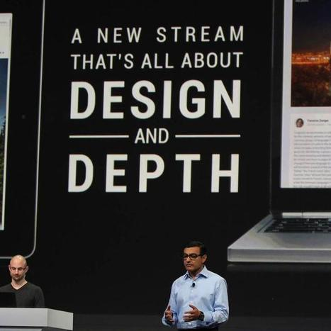 Google+ redesign looks a lot like Facebook, Pinterest   Moving Target Media™   Scoop.it