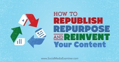 How to Republish, Repurpose and Reinvent Your Content Using LinkedIn Publisher | LinkedIn Marketing Strategy | Scoop.it