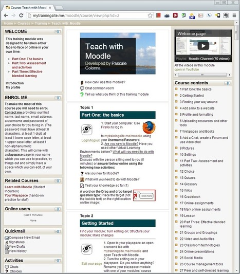 Teach with Moodle course available on the MOOCH | navarraidiomas | Scoop.it