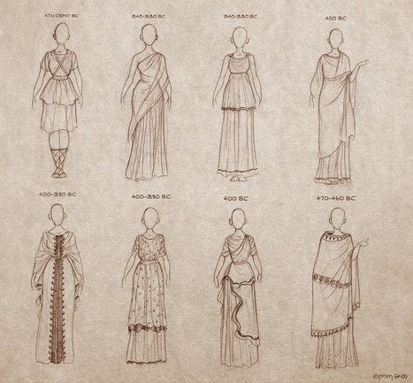 Ancient Greek Dresses   Ancient Art History Summary   Scoop.it