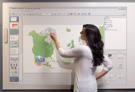 Draw Something: Virtual Whiteboard Fancies Up Your Office Wall | Digital Presentations in Education | Scoop.it