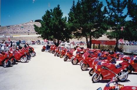 Ducati Island, Laguna Seca SBK 1995 | Ductalk Ducati News | Scoop.it