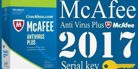 mcafee antivirus 2017 crack full plus activation key