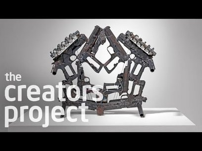 Turning Weapons Into Instruments | Pedro Reyes 'Disarm' | music innovation | Scoop.it
