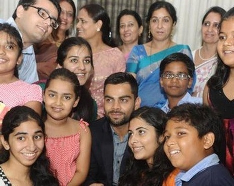 Virat Kohli Family In Cricket Scoop It