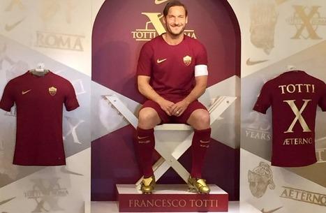 Francesco Totti' in Il tatuaggio di stoffa   Scoop.it