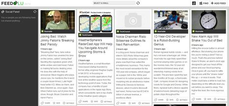 New Social RSS Feed Reader: Feedolu | image et branding | Scoop.it