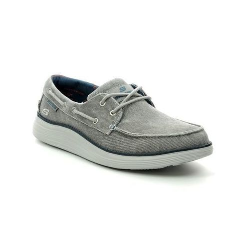 maceta Pakistán Touhou  Skechers Status 2 Lorano 65908 LTGY Light grey ...