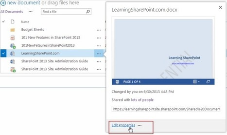 Hide,Remove,Customize CallOut Actions in Default CallOuts in SharePoint 2013 | Tecnologías Microsoft | Scoop.it