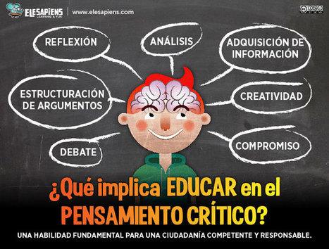 Pensamiento Crítico para Nativos Digitales - Content Art | RecursosSM | Scoop.it