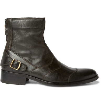 Holiday gift idea - Classic Distressed Leather Boots by Belstaff - Silodrome.com | Ductalk Ducati News | Scoop.it