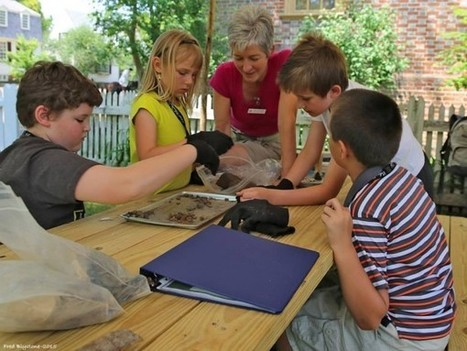 Archaeology Guest Blog: Dishing the Dirt On Our Newest Kid-Friendly Dig Site!   Teaching history and archaeology to kids   Scoop.it