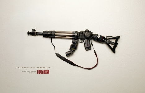 Canadian Journalists for Free Expression: Defend press freedom, 2 | Ads of the World™ | Visual & digital texts | Scoop.it